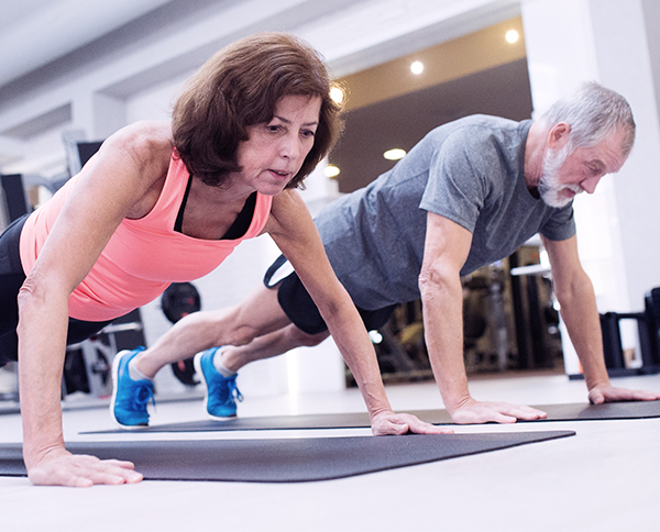 Image Best Ager Baby Boomer Exercising Preferences Health not Aesthetics